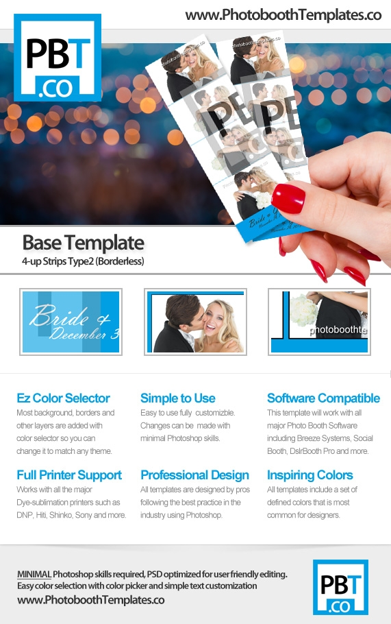 Base Template - 4-up-Strips Type2 (Borderless)