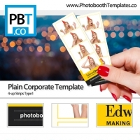 Clean Corporate Photo Booth
