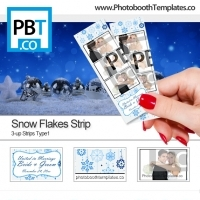 Snow Flakes Strip