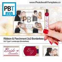 Ribbon and Parchment 2x2 Borderless