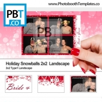 Holiday Snowballs 2x2 Landscape