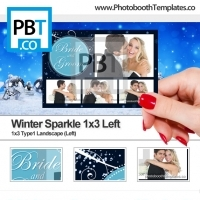Winter Sparkle 1x3 Left