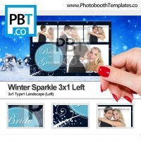 Winter Sparkle 3x1 Left