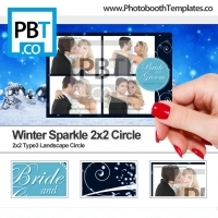 Winter Sparkle 2x2 Circle