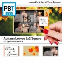 Autumn Leaves 2x2 Square