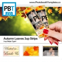 Autumn Leaves 3up Strips