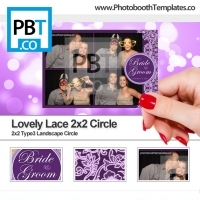Lovely Lace 2x2 Circle