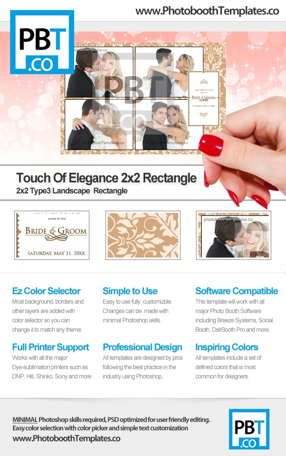 Touch of Elegance 2x2 T2