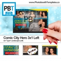 Comic City Hero 3x1 Left