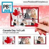 Canada Day 1x3 Left